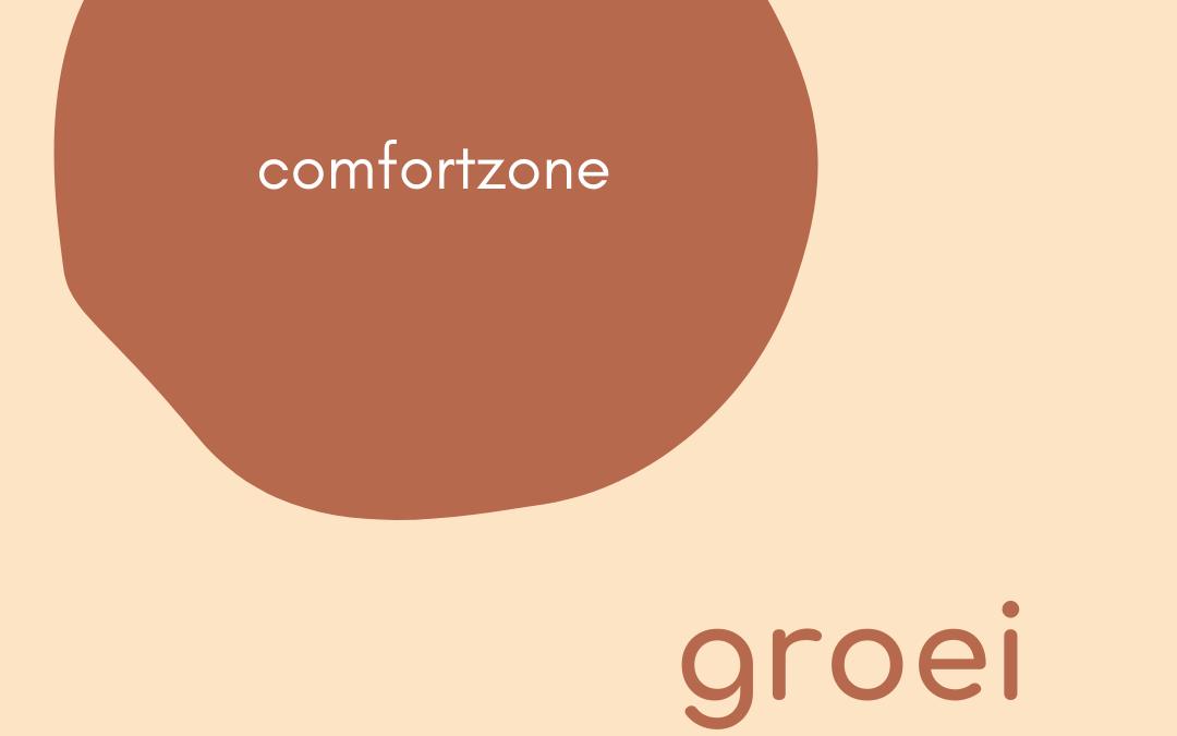 Buiten je comfortzone ligt groei